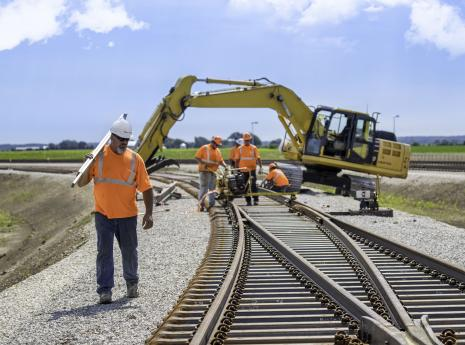 RailWorks Wins Track Contract for Gulf Region SIT Yard