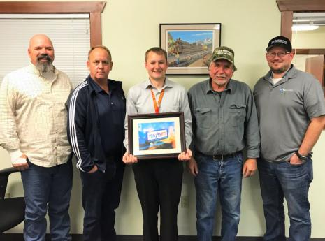 RailWorks Location Recognized for Supporting Veterans